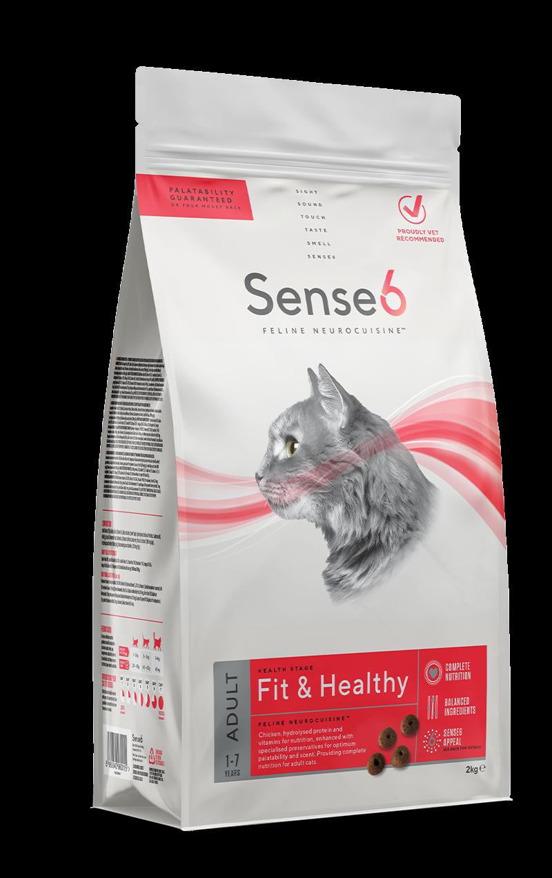 Sense6 Adult Cat Fit & Healthy