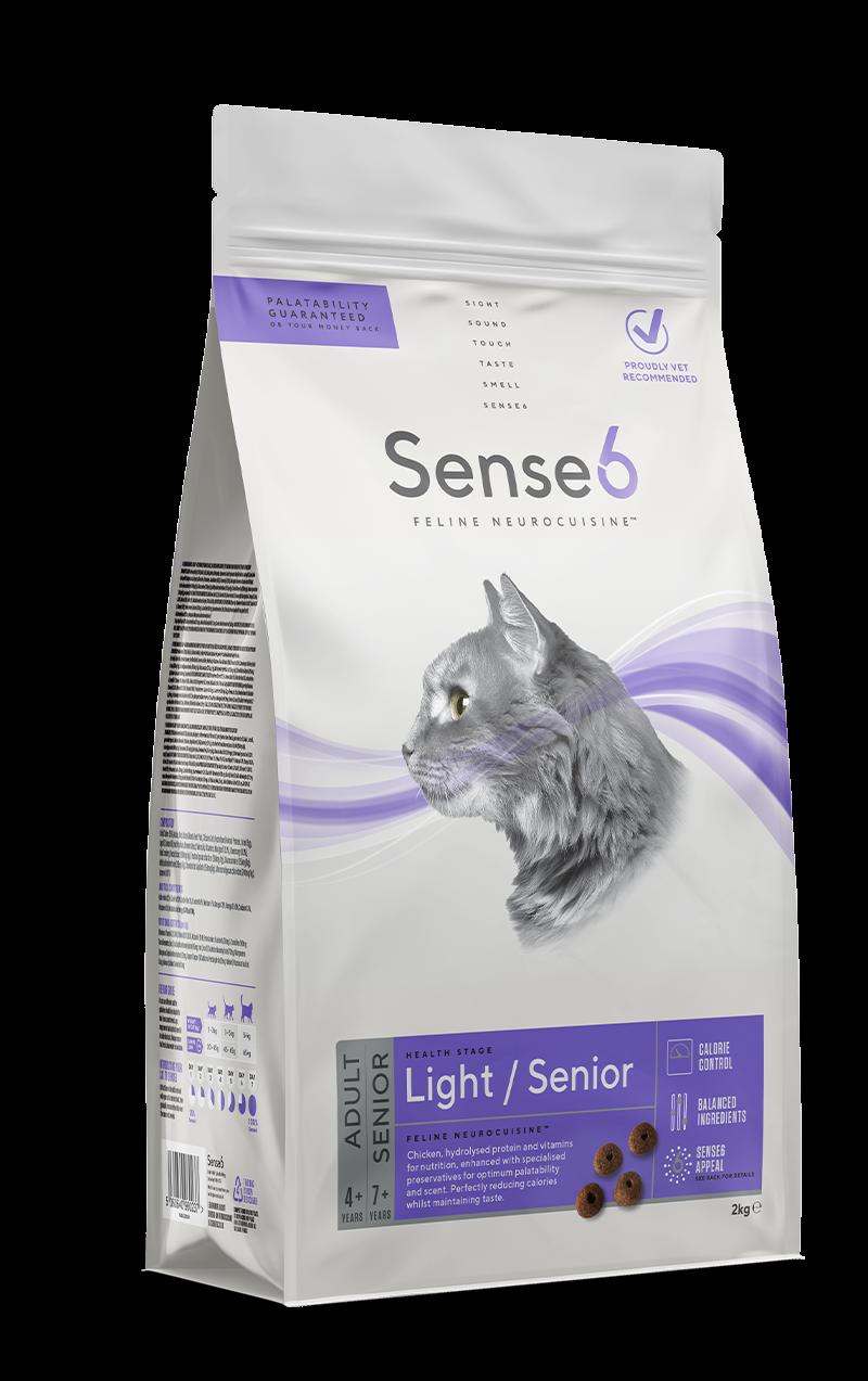 Sense6 Adult Cat Senior Light